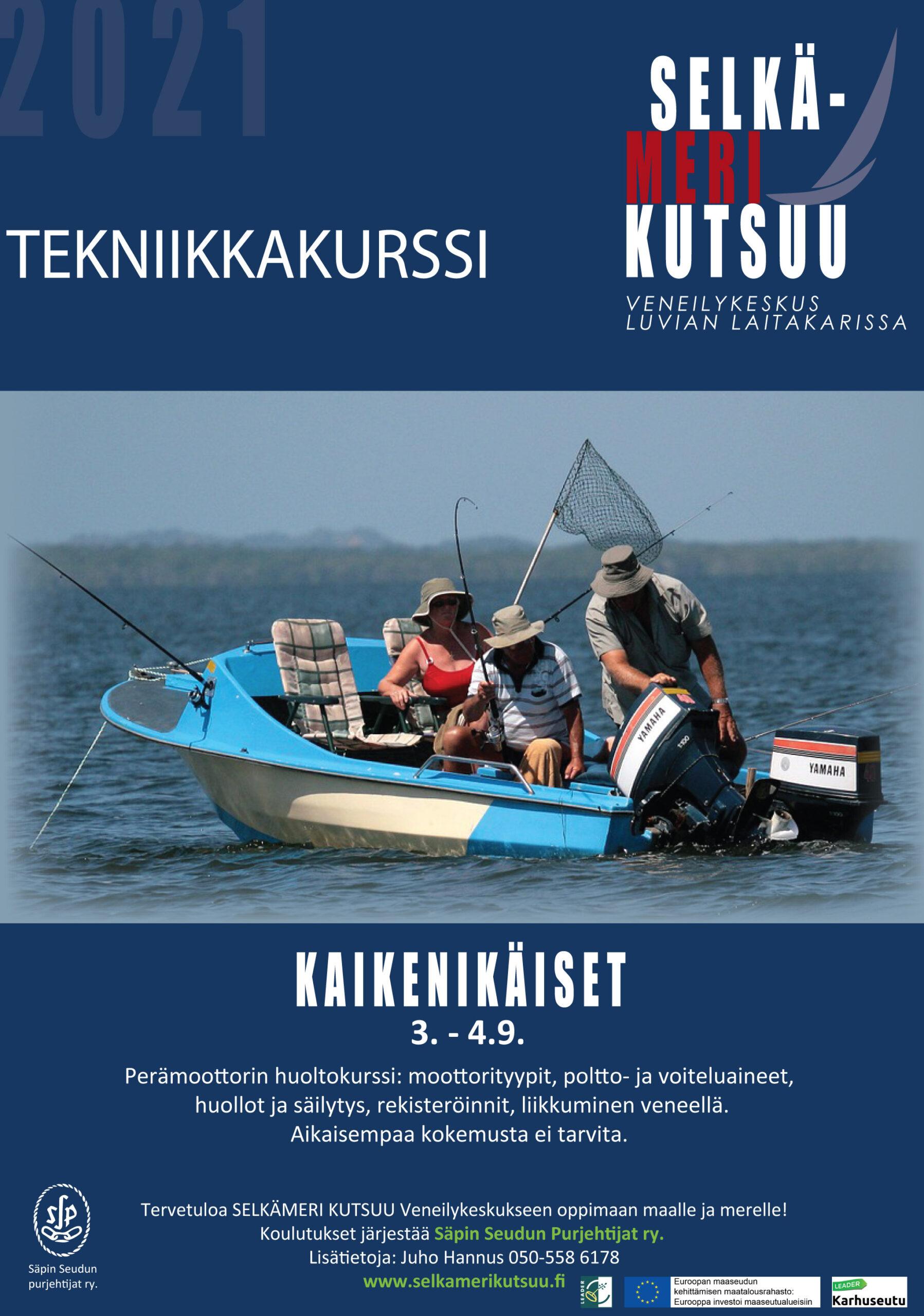 Tekniikkakurssi 3. – 4. 9. 2021